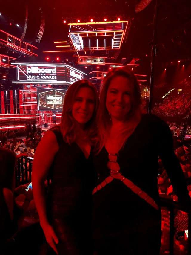 Alisa J. Geffner and Carolyn D. Kersch attend the Billboard Music Awards